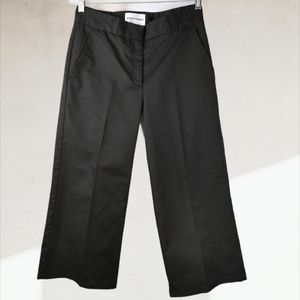 Won Hundred Maria Cropped Wide Leg Trousers